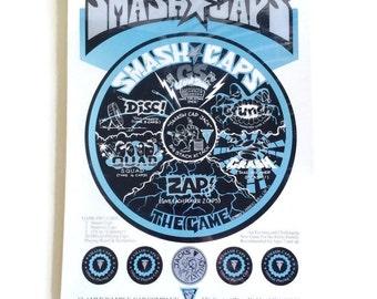SMASH CAPS, NEW/Sealed, Slammerz Milk Caps 1993
