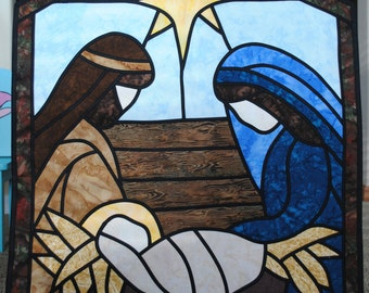"""Wall Hanging """"Away In A Manger"""""""