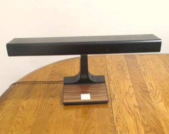 Mobilite Faux Wood Desk Lamp
