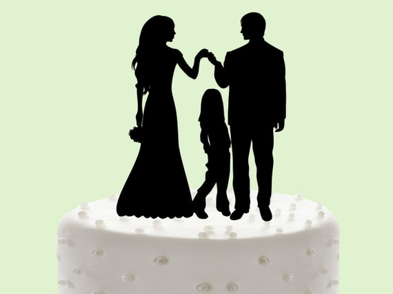 Knitting Cake Toppers : Knit family wedding cake topper decor by weddingcakename