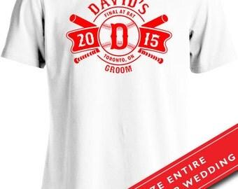 Funny Wedding Shirt Groom Shirt  Bachelor Party T-Shirt Gifts For Groom Joke Mens Tee MD-442(GROOM)