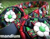 "Horse pony browband, 'Roses & Castles', full size 17"" horse brow band, distinctive equestrian riding tack, handmade satin ribbon weaving"