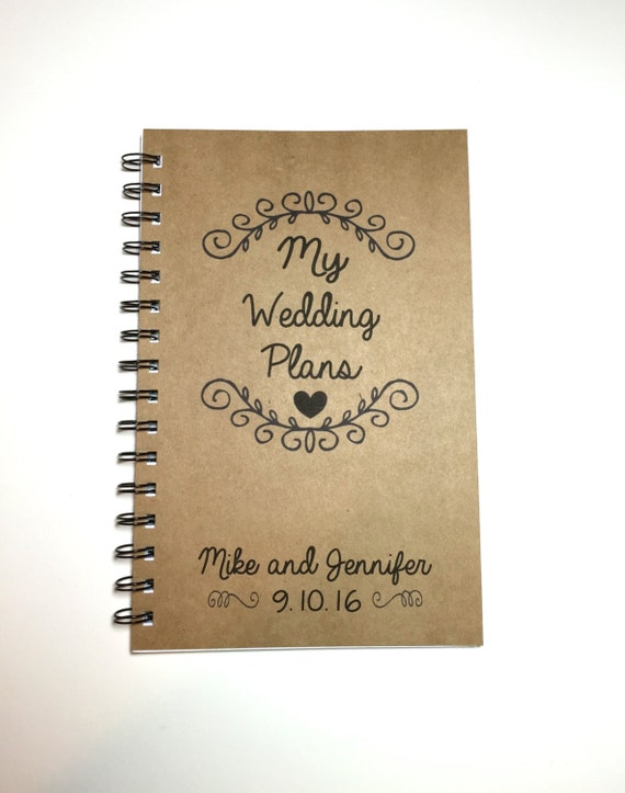 My Wedding Plans Wedding Plan Book Wedding Ideas Custom