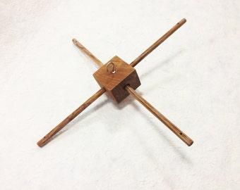 Handmade Teak wooden mobile hanger, baby mobile hanger, wooden hanger, mobile hanger
