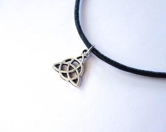 Triquetra Charmed Celtic Charm Choker