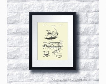 Harley Davidson Motorbike Patent Art Poster no.B4 Wall Art Print, Harley Davidson Home Decor, Harley Gift Idea, Gift for him, Gift for Biker