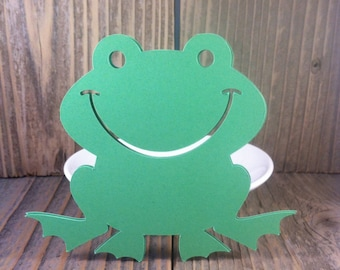 15 Frog Die Cuts - Diy Garland - Banners - Craft Supplies - Party Supplies - diy - school projects