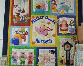 Mother Goose Blanket Etsy