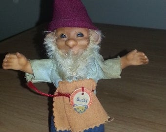"""Steiff Gnome, """"Gucki"""" 5"""" Tahh w/Chest Tag"""