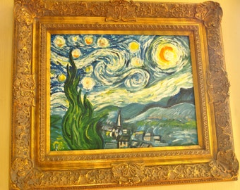An original copy of Starry Starry Night - Van Gogh (copy)
