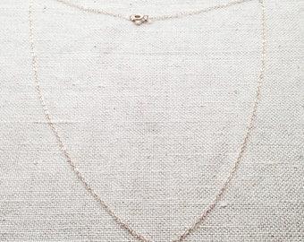 Gold Carnelian Necklace - Carnelian Necklace - Carnelian Jewelry - Tiny Carnelian Necklace - Orange Necklace - Orange Stone Necklace