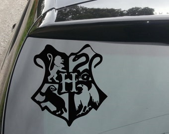 Harry Potter Hogwarts Crest Funny Decal for Car/Home/Windows