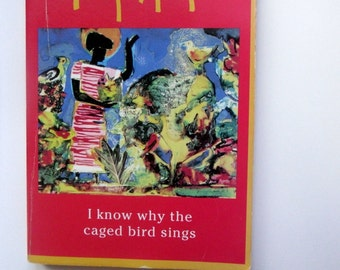 Maya Angelou/ I Know Why the Caged Bird Sings/ Vintage Paperback Book