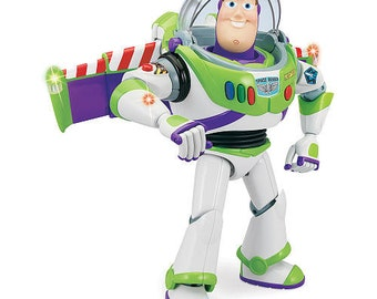 BUZZ LIGHTYEAR - Toy Story - Instant Download - Digital Printable Design - Buzz Lightyear Printable