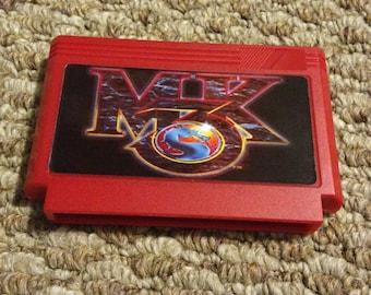 Mortal Kombat 3 III Custom NES 8bit Game. MK3 NES