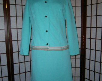 Women's Dress and Jacket - Vintage 1970's