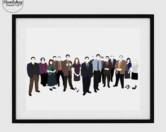 THE OFFICE - TV - Minimalist Poster Art