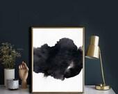 "Abstract Painting Art Print, printable Art, Minimalist Art, Brush Stroke Art, Home Decor Wall Art, INSTANT DOWNLOAD 11""x14""."