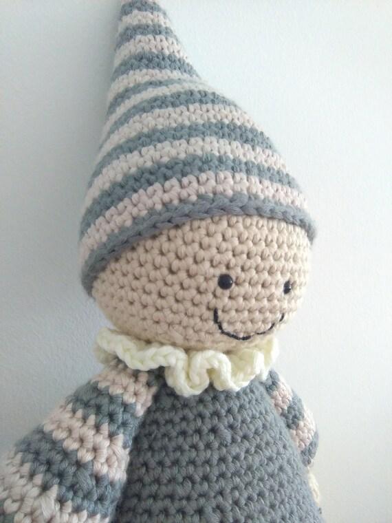 Amigurumi Cuddly Baby : Crochet toys cuddly baby toys amigurumi toys by LoveTakesCare