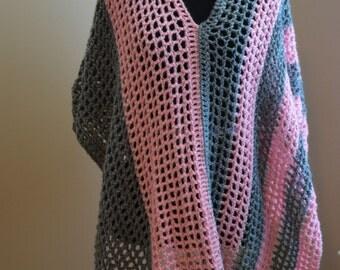 Multi-Wear Crochet Poncho