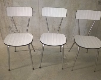 Formica 60s chairs