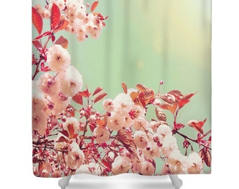 Shower Curtains cherry blossom shower curtains : Cherry blossom ring | Etsy