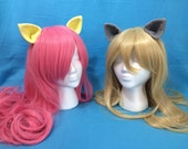 Clip-on Pony Ears, 30+ Available Colors, Lolita, My Little Pony Cosplay