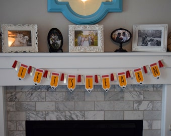 Back to School Banner Garland