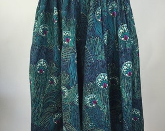 Patterned Gaucho Pants Size S