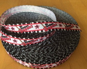 My Brother Rocks Grosgrain Ribbon - 7/8""