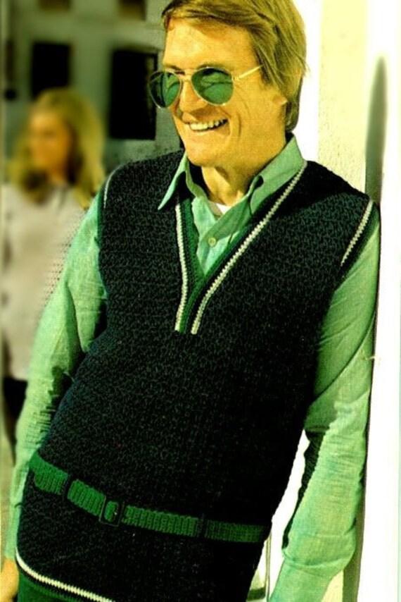 Pattern Crochet Vest Pattern V Neck Vest Pattern For Men