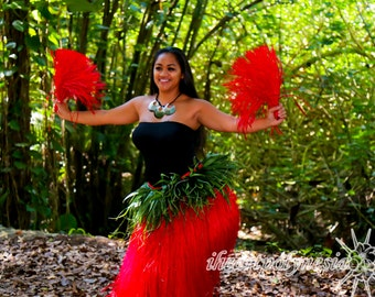 Tahitian dance costume i'i's