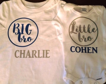 Big Sibling/Little Sibling Shirts