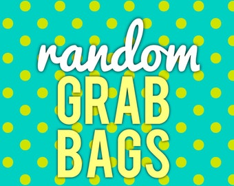 Random Sticker Grab Bags - LIMITED QUANTITIES