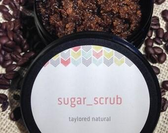 Invigorating Coffee Sugar Scrub!