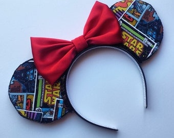 Star Wars Mouse Ears (Pick Your Bow Option)