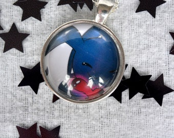 Heartless Hugging A Heart - Kingdom Hearts 1 Necklace