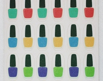 Nail Polish/Varnish Bottle Stickers