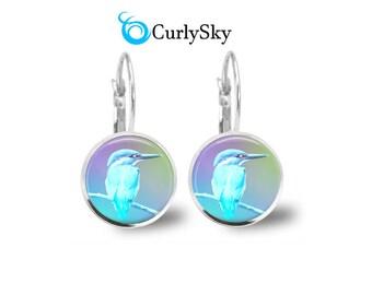 Pastel Blue Earrings Blue Pastel Earrings Blue Birdie Earrings Birdie Jewelry Light Blue Dangles Light Blue Earrings Blue Pastel Earrings