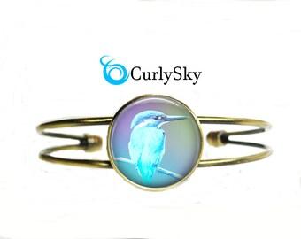 Pastel Blue Bracelet Birdie Blue Bracelet Birdie Bangle Light Blue Bracelet Pastel Blue Bangle Light Blue Bangle Blue Pastel Birdie Bracelet
