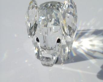 Swarovski Crystal Elephant 2.25 x 1.25