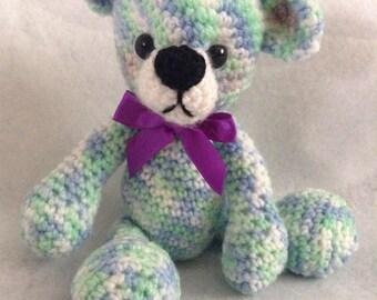 Little crochet teddy