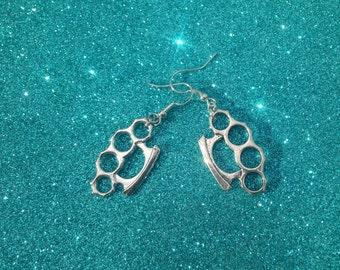 Knuckle Duster Earrings