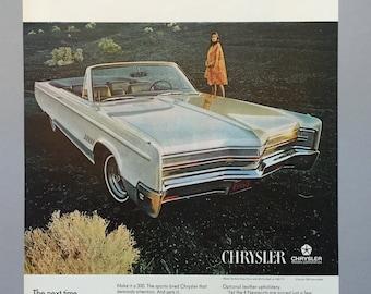 1968 Chrysler Print Ads for 1968 Models - Chrysler 300 Convertable