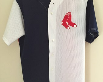 Vintage Red Sox Multi-Color Baseball Jersey