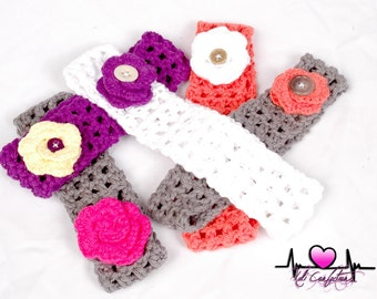 """Baby/Toddler headband 100% cotton """"assorted colors"""""""