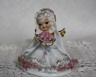 Lefton China Angel Bride - Mid Century - Figurine