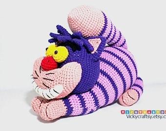 Cheshire Cat Amigurumi Crochet Pattern : Amigurumi horse Etsy