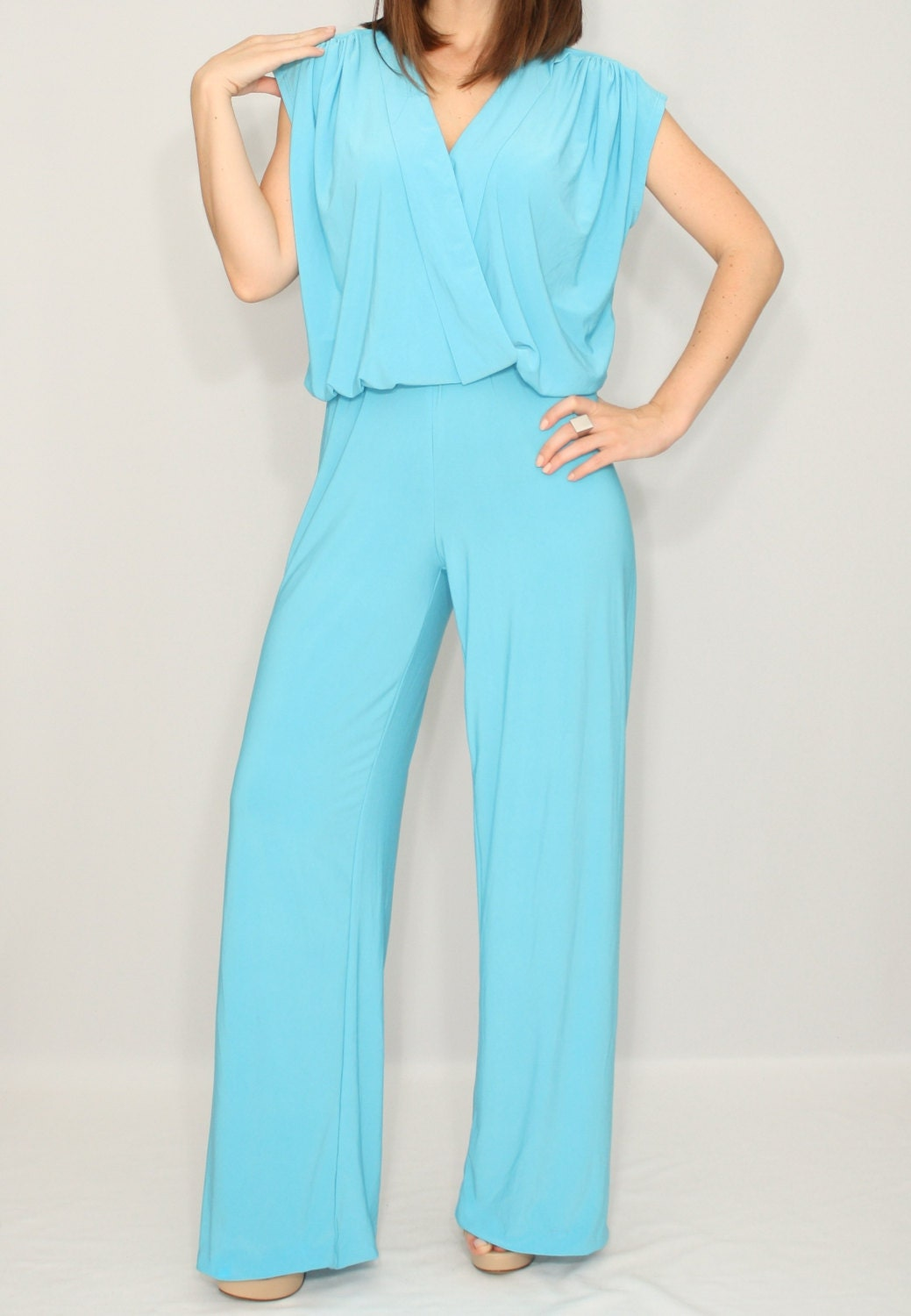 Cool Cheap Price Royal Blue Thinking Out Loud Backless Jumpsuit Womens Rompers And Jumpsuits | Find ...