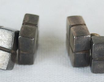 Pair Vintage William Spratling Mexican Sterling Silver Cufflinks Cuff Links